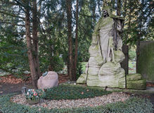 Kolonia - cmentarz Zdjęcie Stock