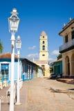 Koloniaal centrum, Trinidad Stock Foto's