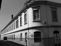 Koloniaal huis Royalty-vrije Stock Foto