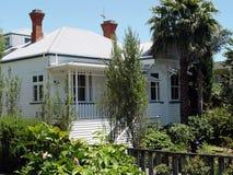 Koloniaal huis 5 Stock Foto
