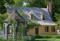 Koloniaal Huis Royalty-vrije Stock Afbeelding