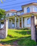 Koloniaal Huis in Roatan Royalty-vrije Stock Foto's