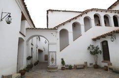 Kolonial arkitektur av huset av frihet, Sucre Fotografering för Bildbyråer