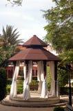 kolonial gazebo Royaltyfri Foto
