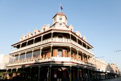 Kolonial1860s, die errichten - Fremantle - Australien Stockbilder