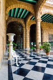 Kolonial slott i gammala Havana Royaltyfri Foto