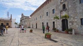 Kolonial stad, Santo Domingo. Dominikanska republiken. Fotografering för Bildbyråer