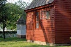 kolonial stuga Royaltyfria Foton