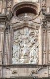 Kolonial tempel morelia Royaltyfri Bild
