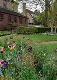 Koloniala trädgårdar Arkivfoto