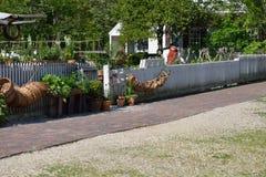 Koloniala trädgårdar Arkivfoton