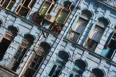 Kolonialarchitektur lizenzfreie stockfotografie