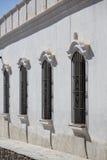 Kolonialarchitektur in Cachi, blauer Himmel argentinien Stockfotografie