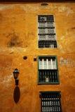 Koloniale Architectuur in Cartagena Royalty-vrije Stock Foto