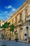 Koloniale architectuur in Havana Stock Afbeeldingen