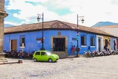 Koloniale Hoekantigua Guatemala Royalty-vrije Stock Afbeeldingen