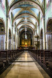 Koloniale kerk Stock Afbeeldingen