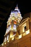 Koloniale kerk in Cartagena, Colombia Royalty-vrije Stock Fotografie