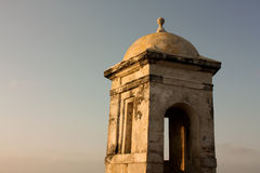 Koloniale Muur van Cartagena DE Indias. Colombia Stock Afbeelding