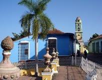 Koloniale Stad stock afbeelding