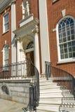 Koloniale stijl van Philadelphia stock afbeelding