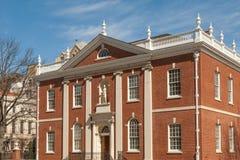 Koloniale stijl van Philadelphia royalty-vrije stock afbeelding