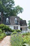 Koloniale tuin Royalty-vrije Stock Foto