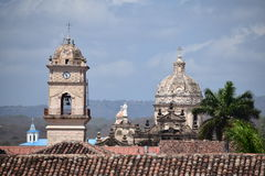 Kolonialkirche - Granada Nicaragua Stockbild