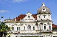 Kolonialna architektura Penang †'Malezja, szczegół zdjęcie royalty free