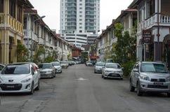 Kolonialna ulica Fotografia Royalty Free