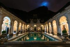 Kolonialna Włoska architektura w Rio De Janeiro obraz royalty free