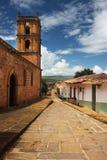 kolonialna wioska Zdjęcia Royalty Free