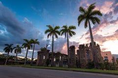 Kolonialne budynek ruiny w Brazylia Zdjęcia Stock