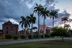 Kolonialne budynek ruiny w Brazylia Fotografia Stock