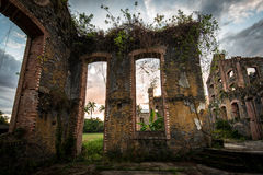 Kolonialne ruiny Obrazy Stock