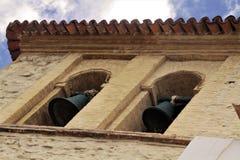 Kolonialni kościelni dzwony obrazy royalty free