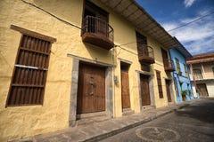 Kolonialny arhitecture w Honda Kolumbia Zdjęcie Royalty Free