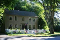 kolonialny dom Zdjęcie Royalty Free