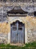 kolonialny drzwiowy stary obraz stock