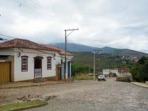 Kolonialny miasteczko Mariana, minas gerais, Brazylia zdjęcie royalty free