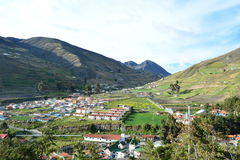 Kolonialny miasteczko w Merida, Wenezuela zdjęcia stock