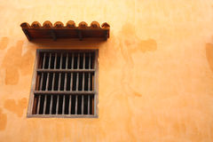 kolonialny spanish stylu okno Fotografia Royalty Free