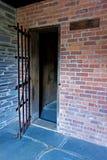 Kolonialny więzienie dom Inside Zdjęcie Royalty Free