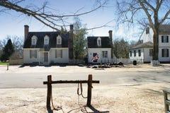 kolonialny Williamsburg zdjęcia royalty free