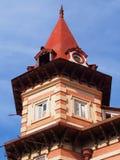 Kolonialt hus Arkivbilder