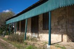 Kolonialt kalkstenhus Fotografering för Bildbyråer