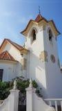 Koloniinvånarekyrka i Lobito Royaltyfri Foto