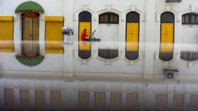 Kolonistów stylowi budynki w Kuala Lumpur Obrazy Royalty Free