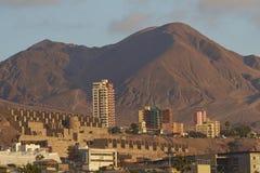 Kolonista Srebna huta, Antofagasta, Chile obrazy royalty free