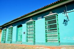 Kolonista Trinidad, Kuba obrazy royalty free